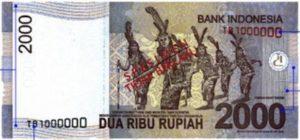 uang baru 2000